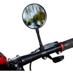 Regulowana obrotowa łatwa instalacja jazda na rowerze do roweru szosowego i górskiego motocykl rower lusterko wsteczne lusterko na kierownicę w Lusterka rowerowe od Sport i rozrywka na