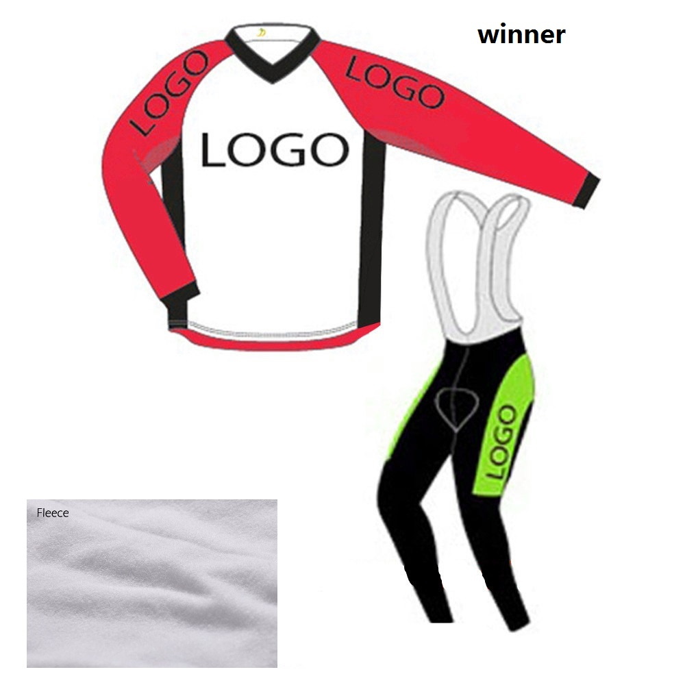 Custom winter thermal fleece Ropa Ciclismo Long Sleeve Cycling Jersey And Customize any color any team Bike Clothing 2016 custom roupa ciclismo summer any color any size any design cycling jersey and diy bicycle wear polyester lycra cycling sets