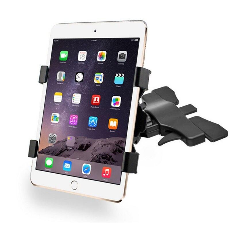 Brand New 360 Degree Adjustable Universal Car CD Slot 7-10 Inches Tablet Mount Holder For Ipad Holder For Samsung Tablet Holder(China (Mainland))