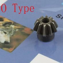 VULPO 2 teile/paket Motor Ritzel (Typ O) für Airsoft AEG Motor