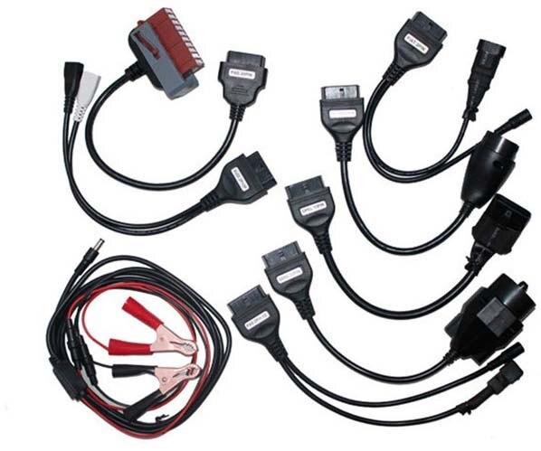 Prix pour Le plus bas prix ensemble complet 8 câbles câble de voiture tcs cdp cdp pro pour delphi meilleur prix et le meilleur service
