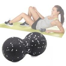 EPP Лакросс миофассия мяч арахисовый Массажный мяч высокой плотности легкий фитнес тела фасции массаж йога упражнения облегчают боль