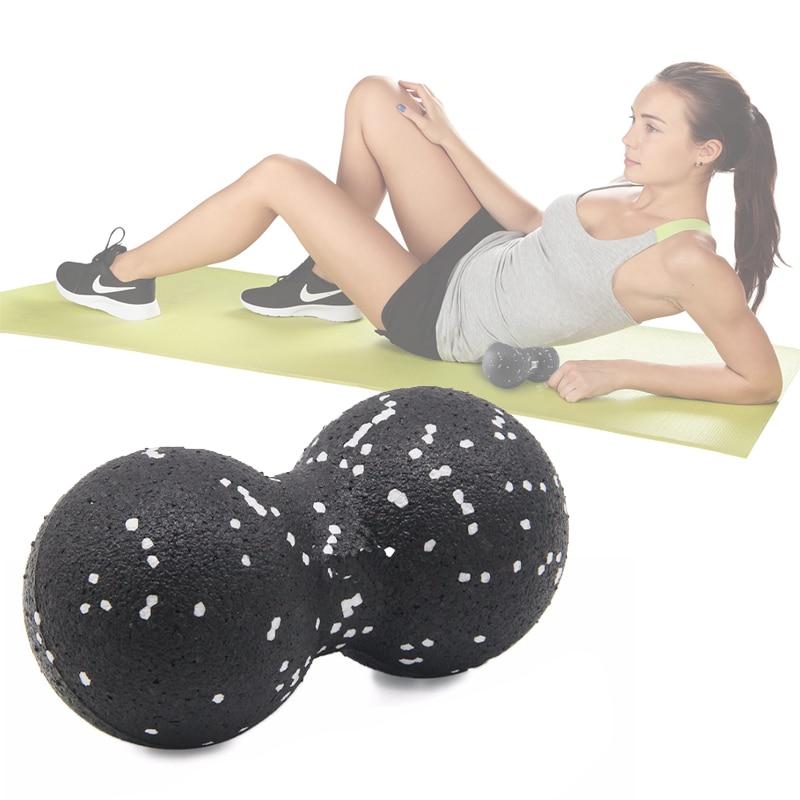 ✔  EPP Lacrosse Myofascia Ball Массаж с арахисом Плотность мяча Легкий вес Фитнес-массаж фасции тела Уп ✔