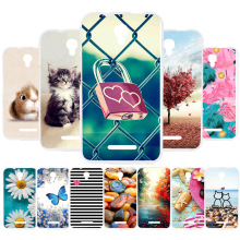 3D DIY Soft Silicone Case For Alcatel Pixi First Coque OneTouch 4024 Cover Back Fundas Housing
