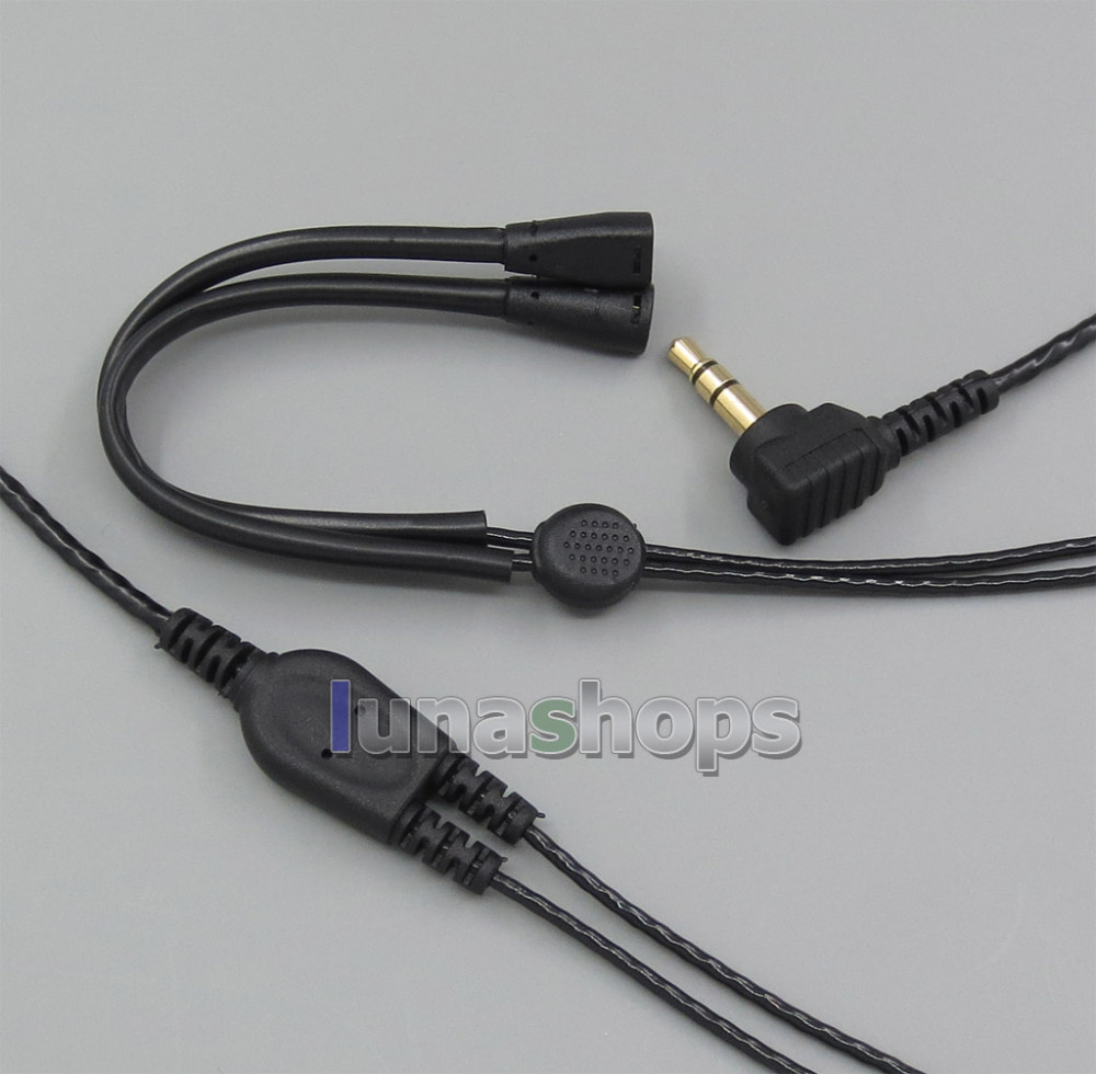 LN005353 With Earphone Hook Replacement Cable For Sennheiser IE8 IE 80 Headphone