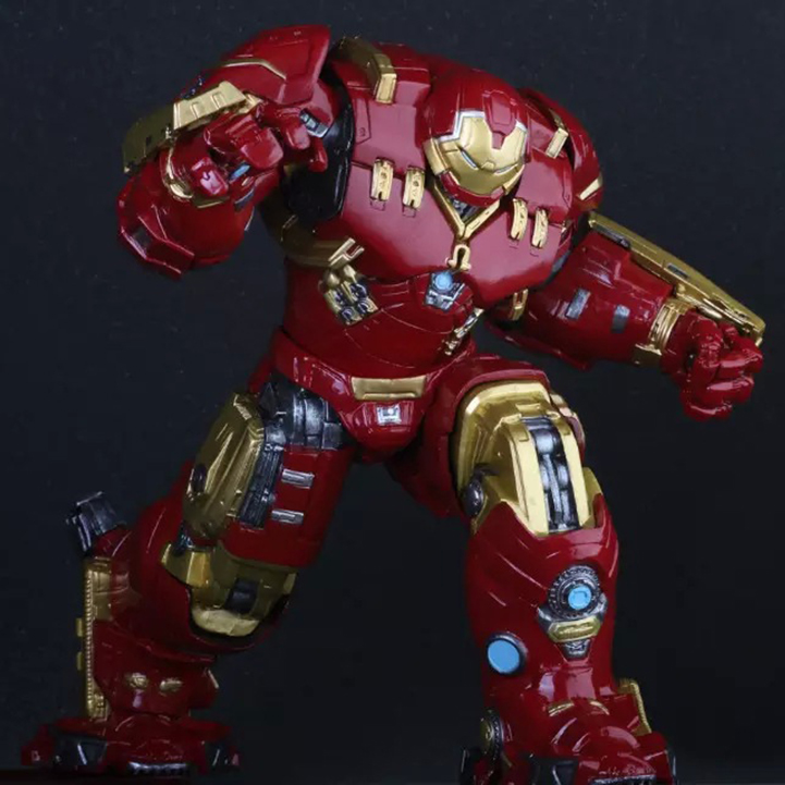 Crazy Toys Avengers Age of Ultron Hulkbuster Mark 44 PVC Action Figure Collectible Model Toy 10 26cm crazy toys avengers age of ultron hulk pvc action figure collectible model toy doll 9 23cm kt1317