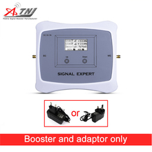 Offerta speciale! DUAL BAND 2G 3G 850/2100mhz mobile ripetitore del segnale del telefono cellulare ripetitore amplificatore Cellulare Solo dispositivo + adattatore