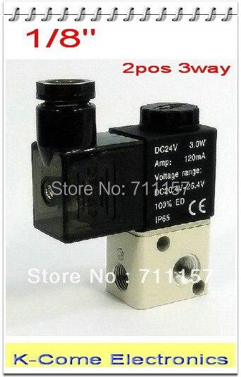 5 Way 4V210-08 Fünf Port 2 Position Magnet Single Head Pneumatik Ventil DC12V