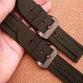 Черный Нержавеющей стали пряжка IPB застежка Ремешки Для Наручных Часов Наручные Часы аксессуаров 22 мм 24 мм 26 мм прямой конец спортивные часы браслет