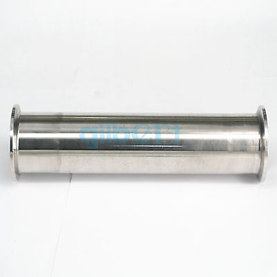 2 Tri bride x 51mm OD tuyau sanitaire bobine Tube longueur 204mm (8) pour Homebrew SUS304 acier inoxydable2 Tri bride x 51mm OD tuyau sanitaire bobine Tube longueur 204mm (8) pour Homebrew SUS304 acier inoxydable