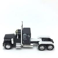 1:32 kids toy heavy truck alloy car model trailer for Peterbilt length 26cm