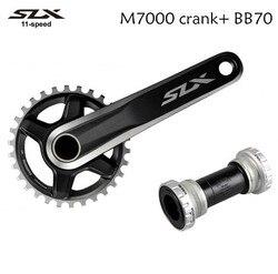 Shimano FC-M7000 SLX M7000 1 x 11 Crank 170mm 175mm 11 speed Mountain Bike bicycle Crankset with BB70 bottom bracket