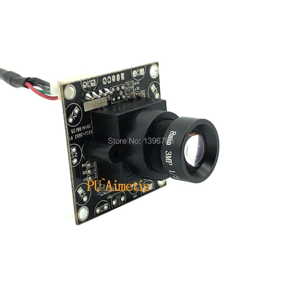 PU'Aimetis 2MP gözetim kameraları 720 P HD 3MP 8mm Lens USB2.0 kamera modülü|Gözetim Kameraları|Güvenlik ve Koruma - title=