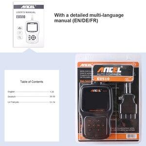 Image 5 - Ancel EU510 OBD2 Máy Quét Mã Tự Động Kiểm Tra Pin Tự Động Chẩn Đoán OBD 2 Ô Tô Máy Quét Ô Tô Chẩn Đoán Công Cụ PK ELM327