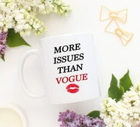 More Issue Than Vogue Coffee Mugs Harry Potter Cups Home Decal Wine Cup Whiskey Beer Ceramic