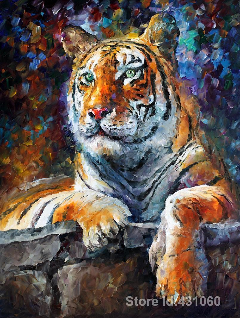 Leonid Afremov Animal Paintings