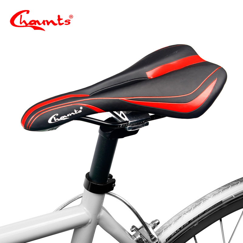 Chaunts 2017 Bicycle Saddle MTB Mountain Road Bike Seat Comfortable Soft Cushion Road Cy ...