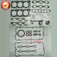 V6 G6CU Двигателя Полная прокладка комплект для Hyundai Terracan 3.5L KIA Sorento 3.5L 20910-39D00 50314000