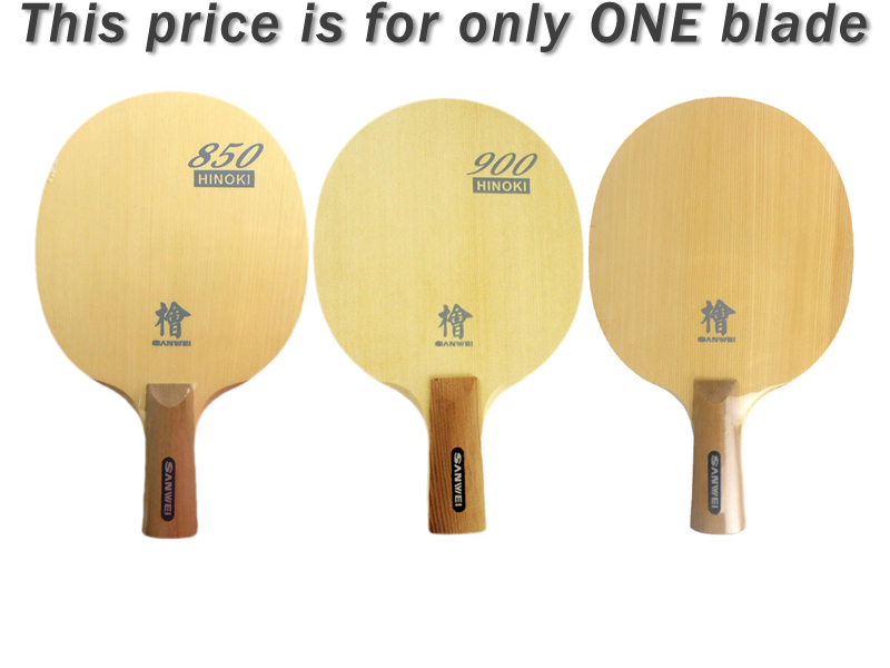 цена Original Sanwei H10 HINOKI penhold short handle CS table tennis pingpong blade