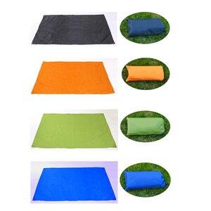Image 5 - Lona impermeable para Picnic, tienda ultraligera, refugio solar, playa, Anti UV, manta de jardín, para acampar al aire libre, toldo, sombrilla