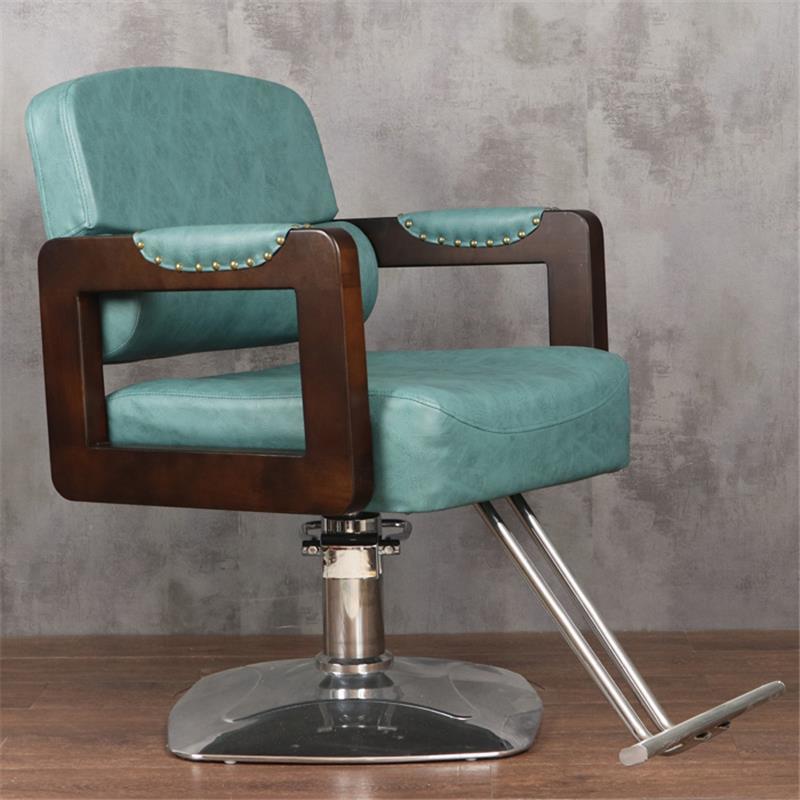 Schoonheidssalon Mueble Stoelen cappersstoelen Barbeiro Hair Sedie De Belleza Sedia Cadeira Salon Barbearia Silla парикмахерское кресло - Цвет: MODEL T
