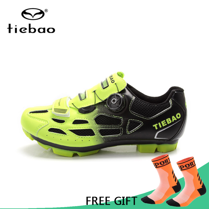 Tiebao Men Women Outdoor Sport MTB Cycling Shoes Bike Shoes Bicycle Racing Self Locking Athletic Shoes