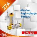12 V 27A MN27 L828 A27 27A Super bateria Alcalina Para Campainha Controle Remoto Lanterna Etc 6 pçs/lote