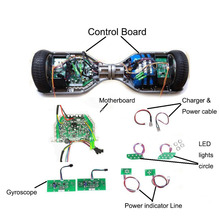 Circuit Board Hoverboard Motherboard Mainboard Control Taotao PCB for 6.5/8/10″ 2 Wheel Self Balance Electric Scooter Skateboard