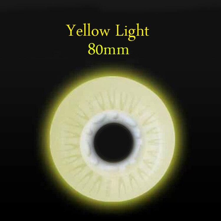 Yellow of 80mm