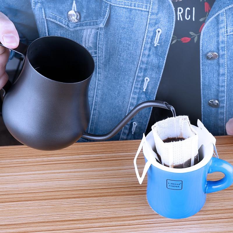 Keluli tahan karat Gooseneck Tenggelam cerek Teflon Tidak melekat - Dapur, makan dan bar - Foto 3