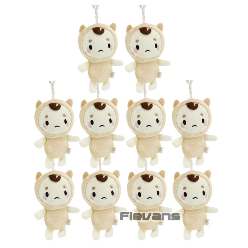 Orderly The Lonely And Great God Goblin Korea Style Soft Stuffed Dolls Pendants Plush Toys 10pcs/lot Refreshment Dolls & Stuffed Toys