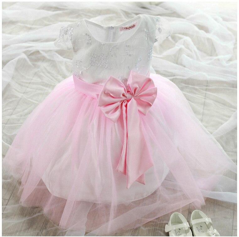 2016 venta Vestidos para niños Vestidos para niñas navidad vestido ...