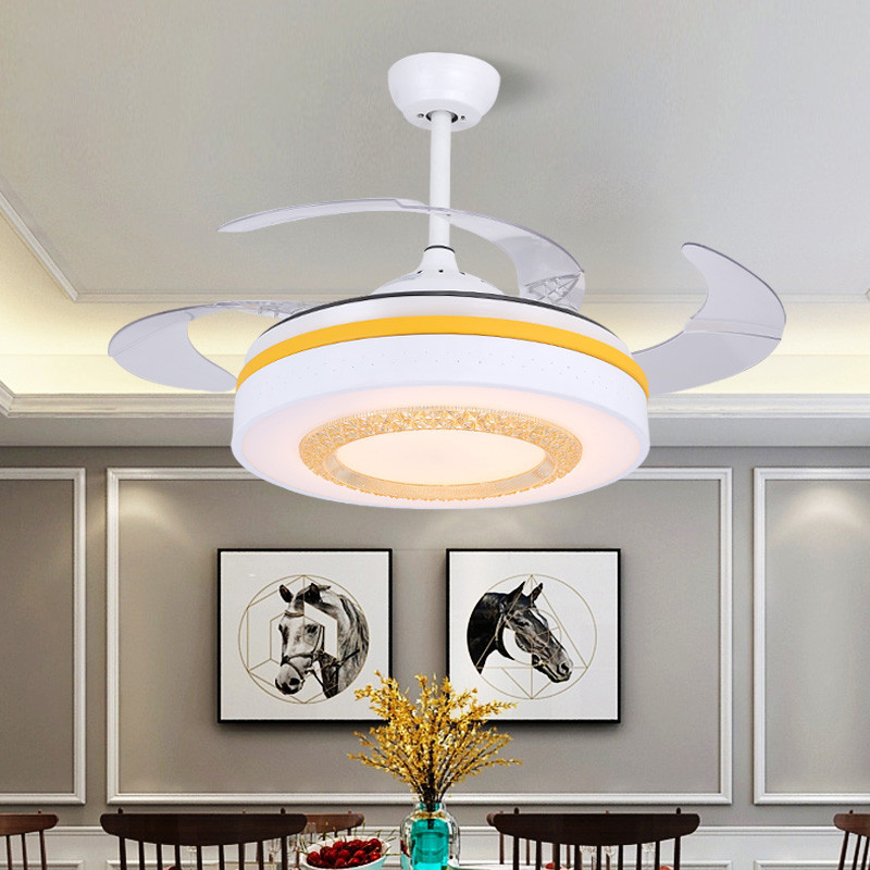 2018LEDinvisible ceiling fan light dining room ceiling fan light