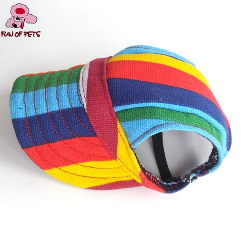 Leuke Tailup Chihuahua zomerzon Pet Cat Dog accessoires Dog Hat Cap - Producten voor huisdieren - Foto 2