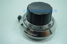Scale 3590s precision potentiometer knob scale with switch digital knob Shaft hole diameter 6.35 MM