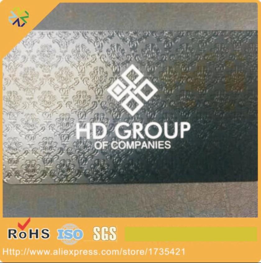 웃 유black Metal Business Card,black Anodized metal Card Engraved ...