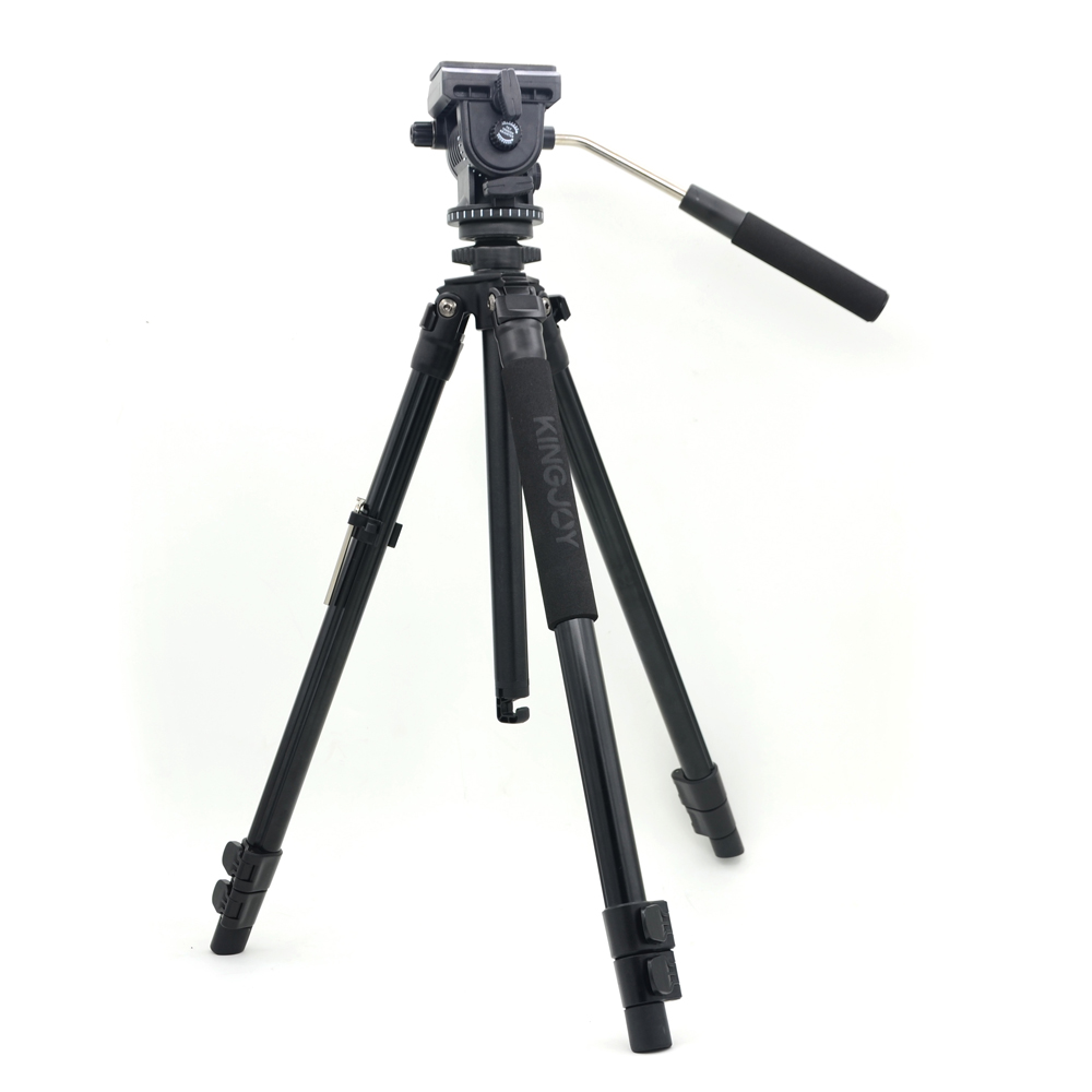 Kingjoy VT 1200 Professional Wearable Flip Level Lock Stable Video Camera font b Tripod b font