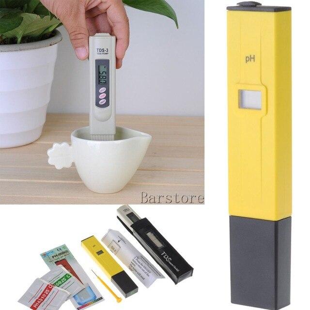 Digital PH Meter+Digital TDS Meter PH Tester Water Quality Purity Tester  For Aquarium Swimming