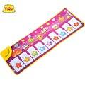 Longo Tapete para as crianças Brinquedos Educativos Tapetes de Jogo Do Bebê Tapete Música Teclado de Piano Chave gamepad Suave Nylon YQ2995