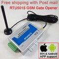 Бесплатная доставка RTU5015 GSM оператор привода для открывания ворот Пульт дистанционного доступа Контроллер 2 цифровой вход/1 релейный выход о...