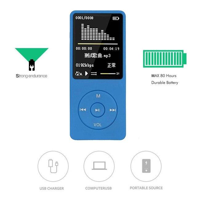 絶妙な職人技新ファッションポータブル MP3 プレーヤー液晶画面 FM ラジオビデオゲーム Movie18 #817