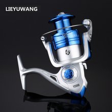 2017 New Arrival Fishing Reel High Quality HC 1000-7000 Spinning Fishing Reel with Exchangeable Handle For Casting Line