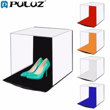 PULUZ 40*40cm 16Photo studio box photograghy Soft Portable Folding Studio Shooting Tent Box Kits with5 background backdrops