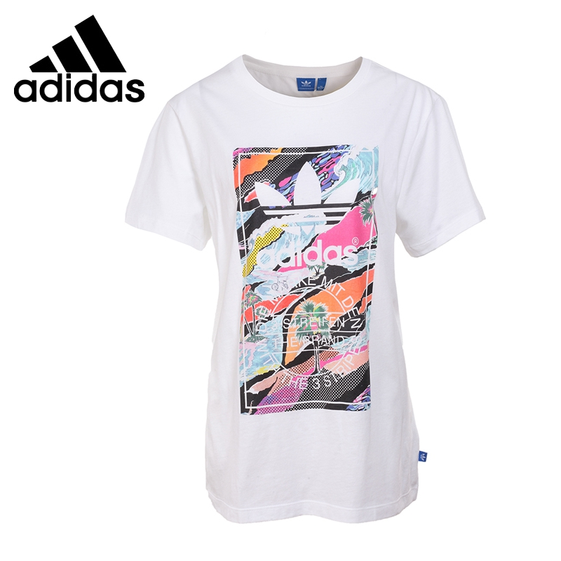 Original New Arrival 2017 Adidas Originals TONGUE Women's T-shirts short sleeve Sportswear  цены онлайн