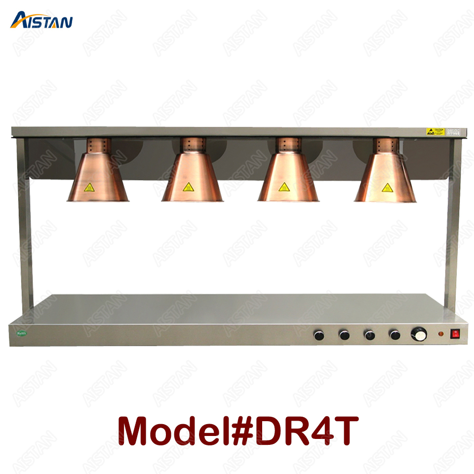 DR3/DR4 electric counter top food warmer heating lamp for buffet and restaurant 4