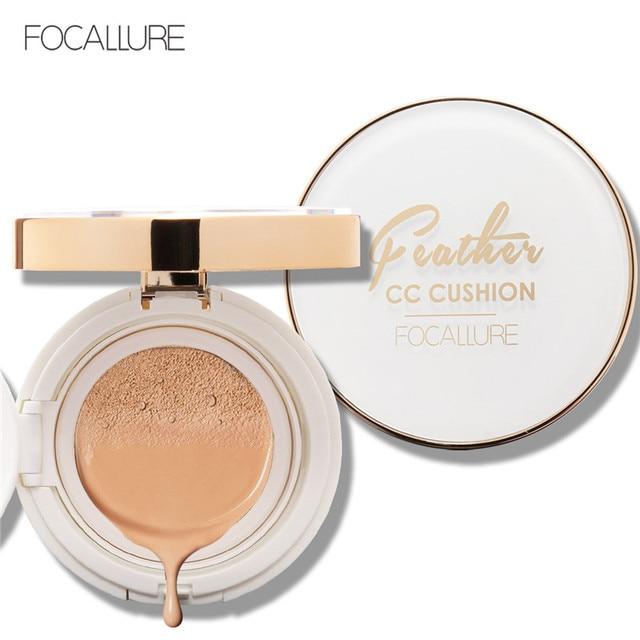FAOCALLURE Air Cushion BB Cream Concealer Moisturizing Foundation Makeup Bare Strong Whitening Face Beauty Makeup Maquiagem
