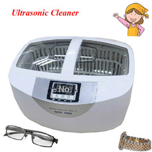 1pc 2.5L Popular Stainless Steel Digital 42khz Frequency Water Heating Function Jewelry Ultrasonic Cleaner CD-4820
