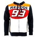 2015 New Men's Clothing 100% Cotton REPSOL GAS Hoodies 93 Marc MARQUEZ Sweatshirts MotoGP  Motorcycle Casual Sports Jacket