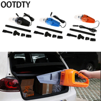 OOTDTY Car 12V 150W Portable 6 In 1 Handheld Vacuum Cleaner Wet Dry Dust W 5m
