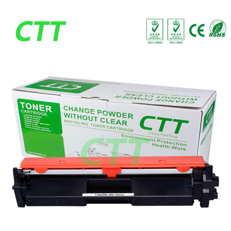 Black CF217A cf217a 17a toner cartridge for HP LaserJet Pro M 102a 102w MFP 130A 130fn